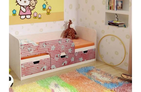 Кровать с бортиками Минима