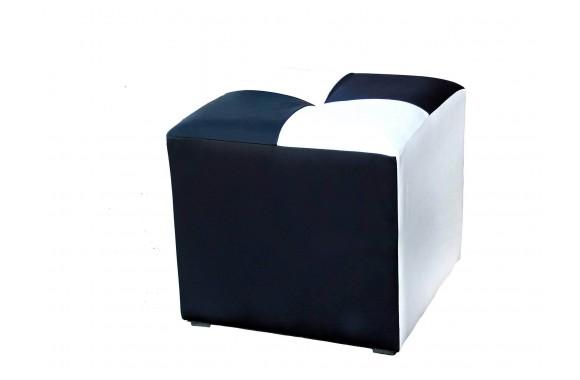 Белая банкетка Пуф Куб