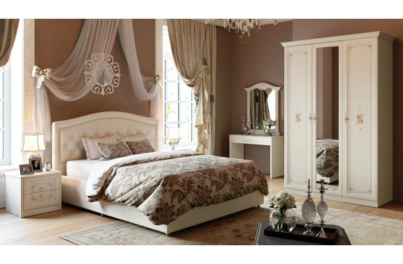 Спальные гарнитур Лючия 1