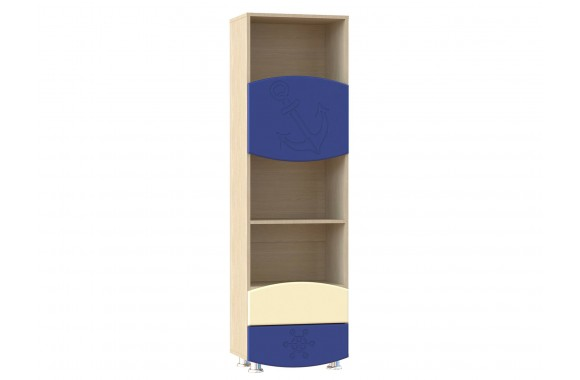 Стеллаж для игрушек Капитошка в цвете Синяя Шагрень