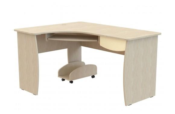 Компьютерный стол Капитошка в цвете Синяя Шагрень