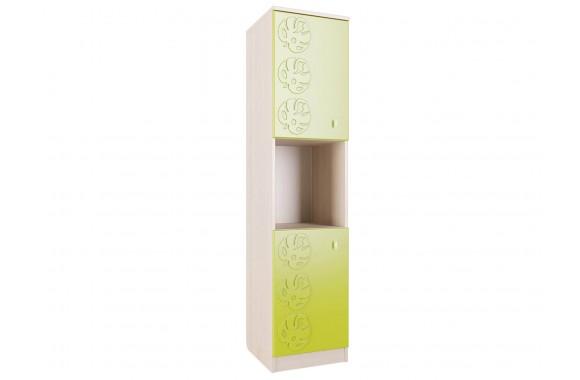 Шкаф распашной Маугли в цвете Лайм Глянец