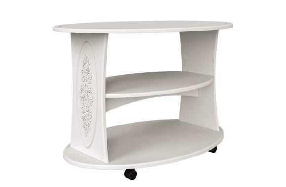Кофейный столик Ассоль в цвете Белый