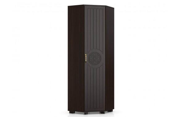 Шкаф угловой Монблан в цвете Орех Шоколадный