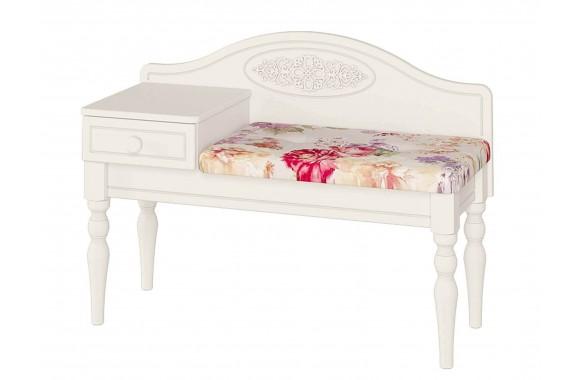Банкетка Ассоль в цвете Белый
