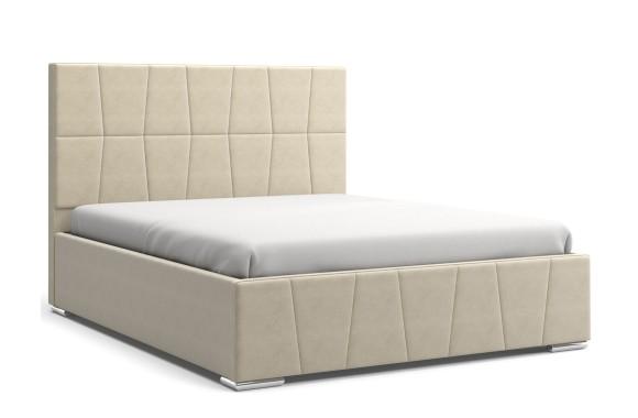 Кровать с мягким изголовьем Пассаж