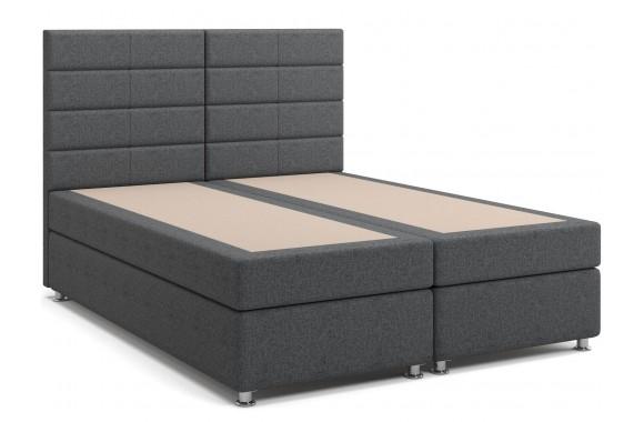 Кровать мягкая с матрасом и независимым пружинным блоком Гаванна (160х200) Box Spring