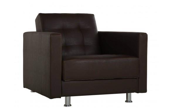 Кресло кожаное Soprano