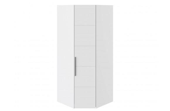 Шкаф угловой Наоми в цвете Белый глянец