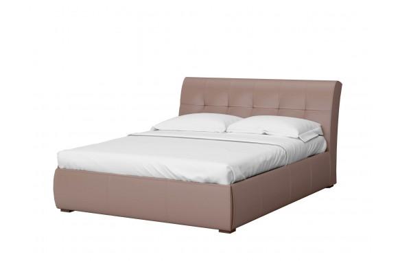 Мягкая кровать с ящиком и ПМ Бьянка (161х201)