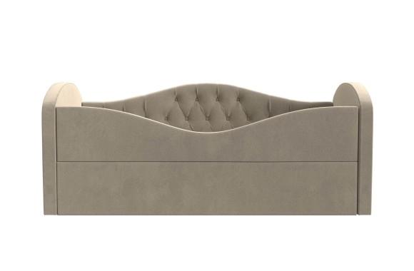 Кровать с мягким изголовьем казка
