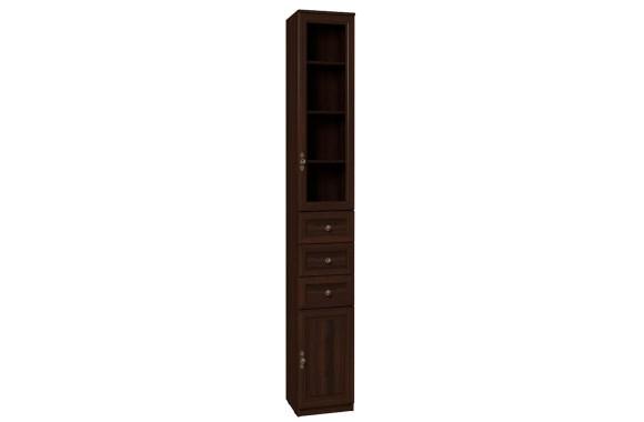 Шкаф распашной Montpellier в цвете Орех шоколадный