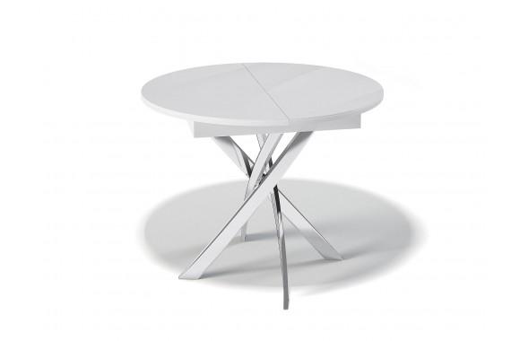 Стеклянный стол обеденный Kenner R1100