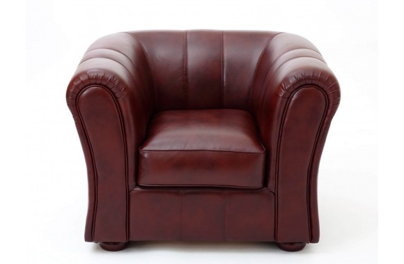 Кресло кожаное Брук