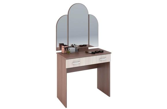 Туалетный столик подсветкой макияжный Бася