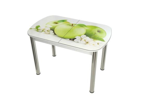 Стеклянный стол обеденный Диамант