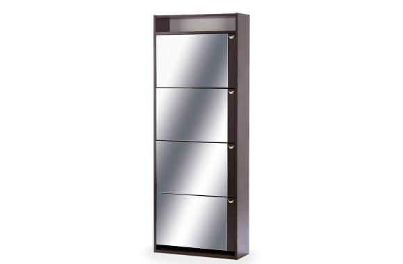 Угловой шкаф Комфорт с зеркалом 4S