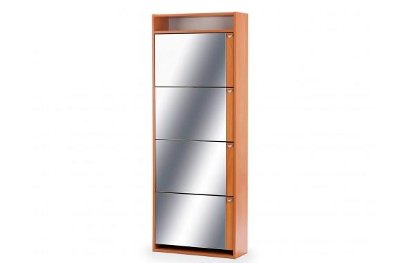 Шкаф угловой Комфорт с зеркалом 4S