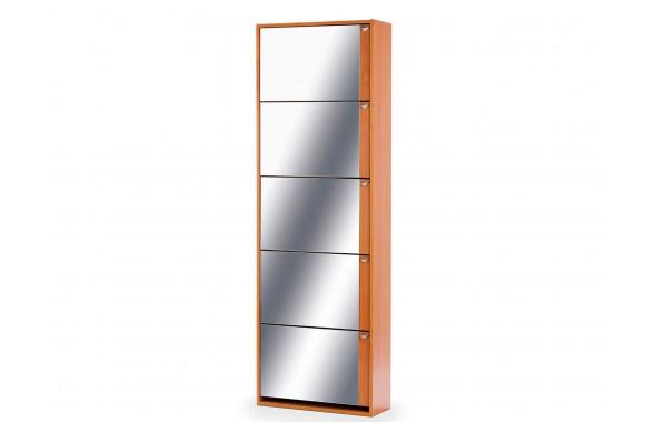 Шкаф угловой Комфорт с зеркалом 5S