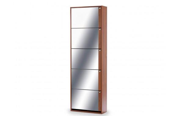 Угловой шкаф Комфорт с зеркалом 5S