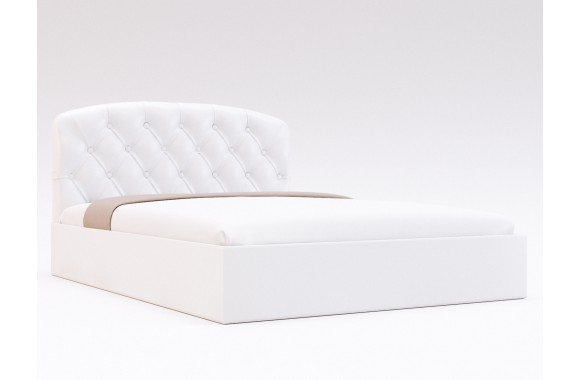 Кровать с мягким изголовьем Лацио Капитоне