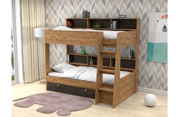 Двухъярусная детская кровать Golden Kids-1