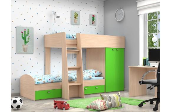Двухъярусная детская кровать Golden Kids-2