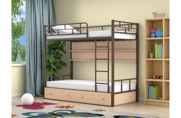 Детская кровать горкой Ницца-2