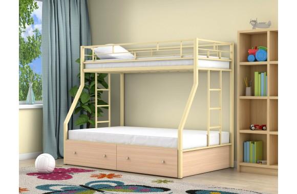 Детская кровать горкой Милан