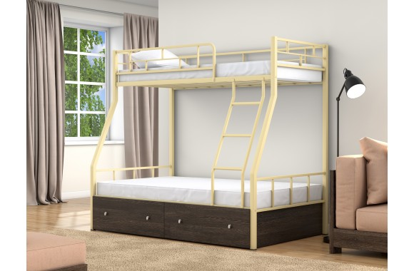 Детская кровать горкой Раута