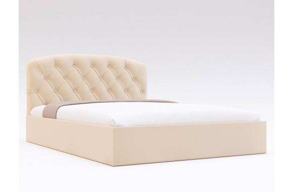 Кровать с мягким изголовьем Лацио Капитоне ПМ (90х200)