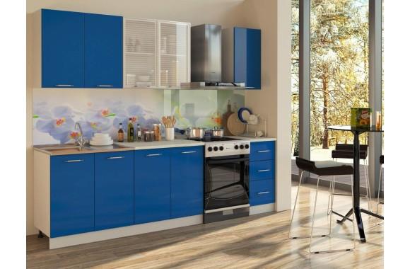 Кухонный гарнитур Синяя 2000
