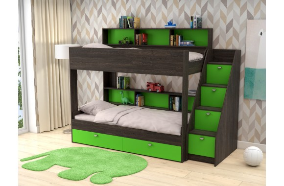 Кровать детская Двухъярусная Golden Kids 10 (90х190)