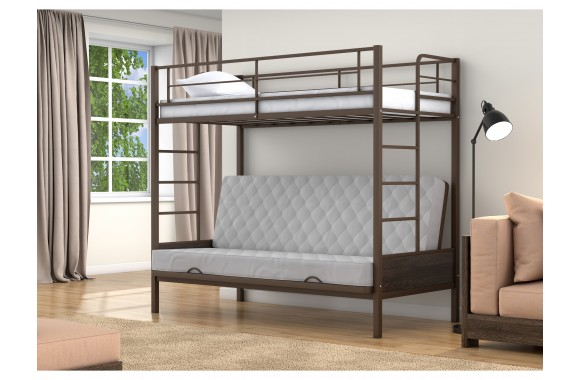 Детская кровать горкой Дакар 1 (90х90/120х190)