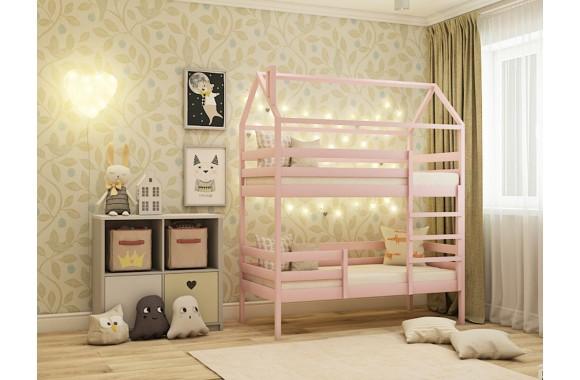 Кровать-домик Двухярусная (70х160)