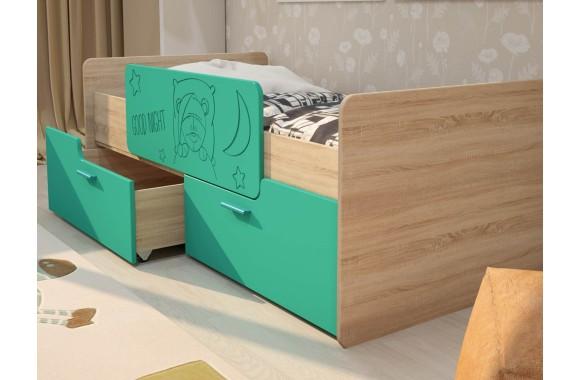 Кованая кровать Умка