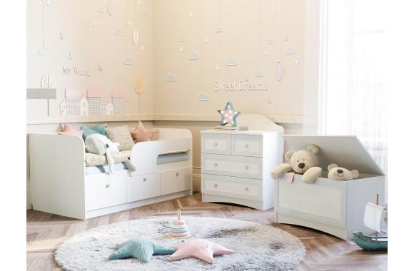 Детская Прованс в цвете Белый