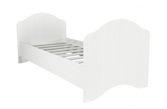 Односпальная кровать Проанс в цвете Белый
