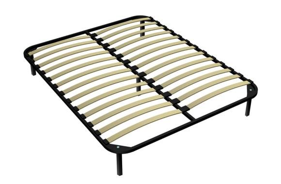 Кровать Ортопедическое основание с ножками 140х190
