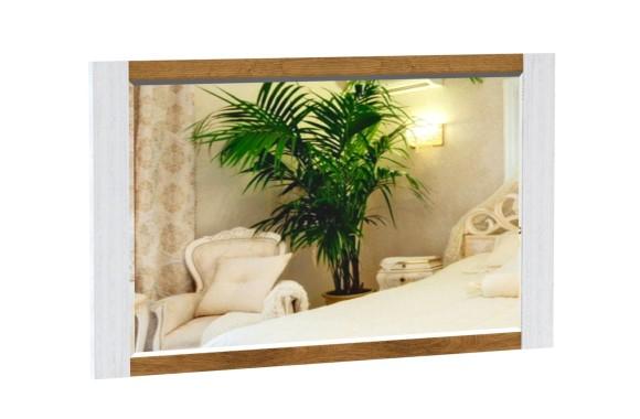 Зеркало Кантри в цвете Орех Рибек натуральный