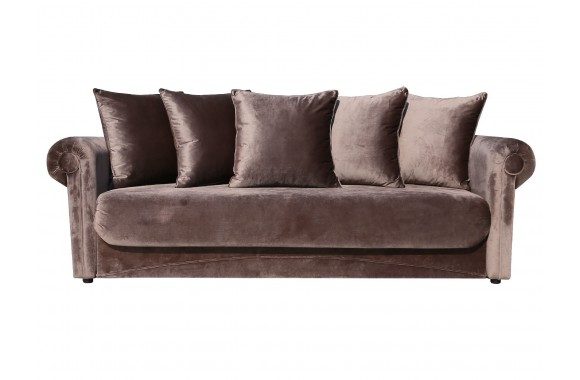 Прямой диван Амели 4 ст евро