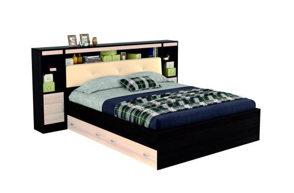 Кровать с мягким изголовьем Виктория