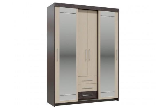Шкаф-купе с ящиками Олимп