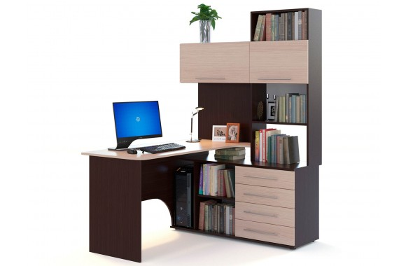 Угловой компьютерный стол КСТ-14
