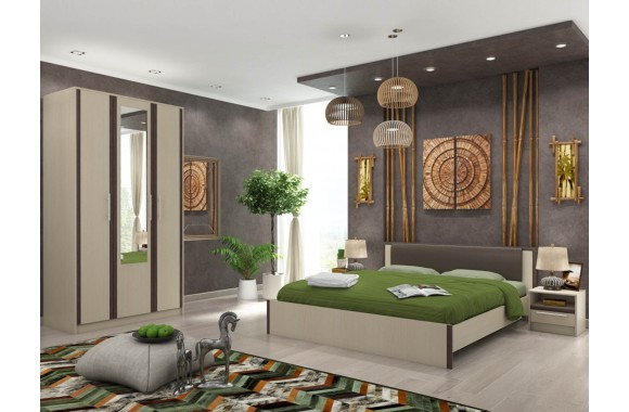 Спальня Novella в цвете Дуб кремона