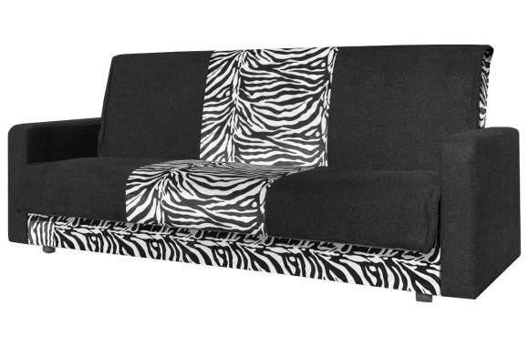 Прямой диван Честер зебра