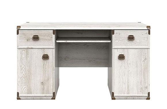 Угловой письменный стол Индиана цвете Сосна Каньйон