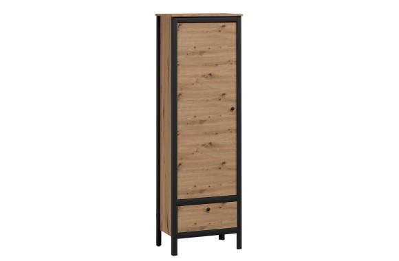 Распашной шкаф Лофт в цете Дуб вотан