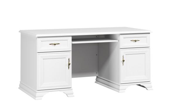 Угловой письменный стол Кентаки Белый