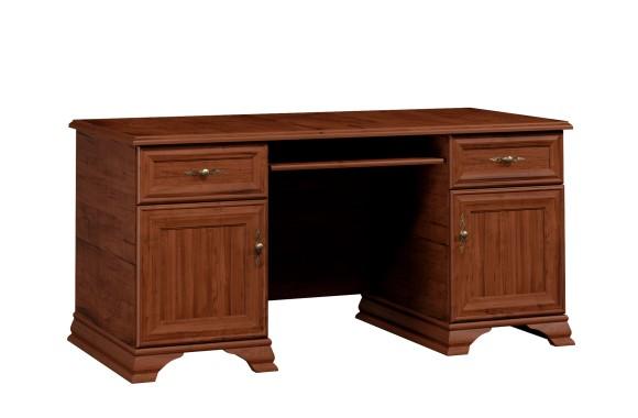 Угловой письменный стол Кентаки Каштан